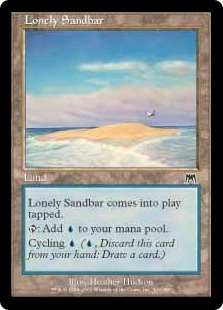 Lonely Sandbar | Magic: The Gathering Card
