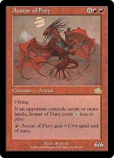 Avatar of Fury | Magic: The Gathering Card