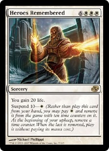 Heroes Remembered | Magic: The Gathering Card