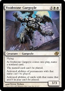 Voidstone Gargoyle | Magic: The Gathering Card