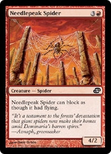 Needlepeak Spider | Magic: The Gathering Card