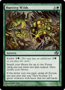 Hunting Wilds | Magic: The Gathering Card