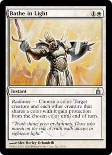 Bathe in Light | Magic: The Gathering Card