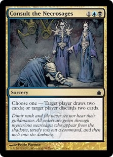 Consult the Necrosages | Magic: The Gathering Card