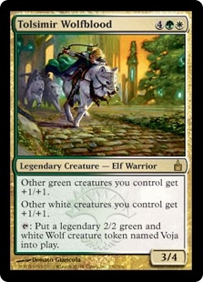 Tolsimir Wolfblood | Magic: The Gathering Card