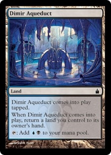 Dimir Aqueduct | Magic: The Gathering Card