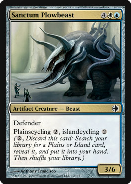 Sanctum Plowbeast | Magic: The Gathering Card