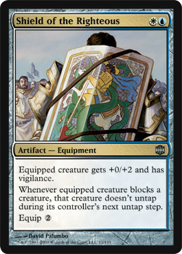 Shield of the Righteous | Magic: The Gathering Card