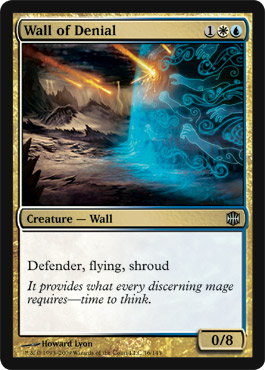Wall of Denial | Magic: The Gathering Card