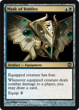 Mask of Riddles | Magic: The Gathering Card