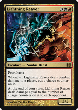 Lightning Reaver | Magic: The Gathering Card
