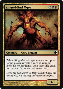 Singe-Mind Ogre | Magic: The Gathering Card