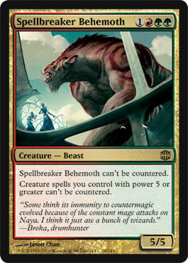 Spellbreaker Behemoth | Magic: The Gathering Card