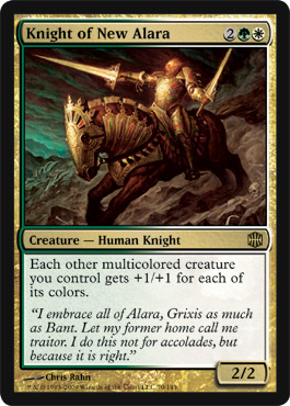 Knight of New Alara | Alara Reborn | Magic: The Gathering at ...