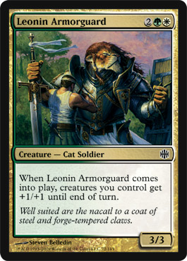 Leonin Armorguard | Magic: The Gathering Card