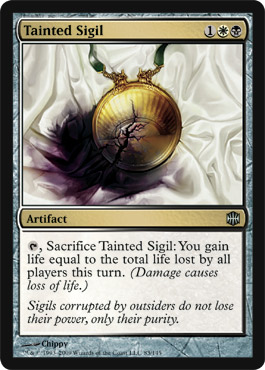 Tainted Sigil | Magic: The Gathering Card