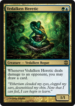 Vedalken Heretic | Magic: The Gathering Card