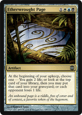 Etherwrought Page | Magic: The Gathering Card