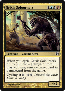 Grixis Sojourners | Magic: The Gathering Card