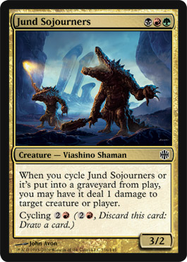 Jund Sojourners | Magic: The Gathering Card