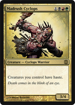 Madrush Cyclops | Magic: The Gathering Card