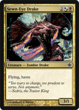 Sewn-Eye Drake | Magic: The Gathering Card