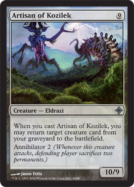 Artisan of Kozilek | Magic: The Gathering Card