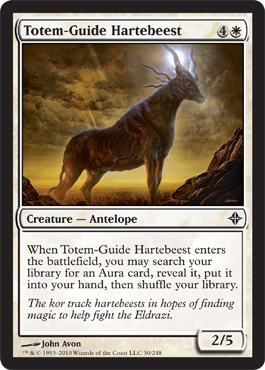 Totem-Guide Hartebeest | Magic: The Gathering Card