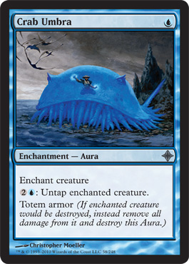 Crab Umbra | Magic: The Gathering Card