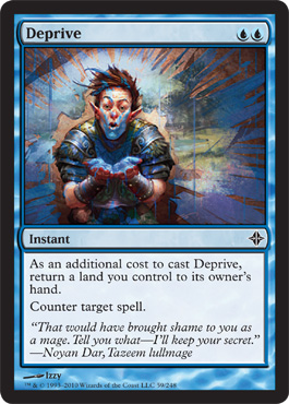 Deprive | Magic: The Gathering Card