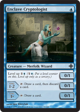 Enclave Cryptologist | Magic: The Gathering Card