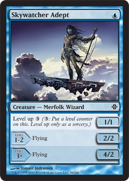 Skywatcher Adept | Magic: The Gathering Card