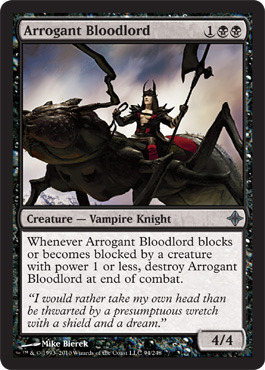 Arrogant Bloodlord | Magic: The Gathering Card