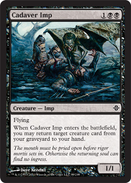 Cadaver Imp | Magic: The Gathering Card