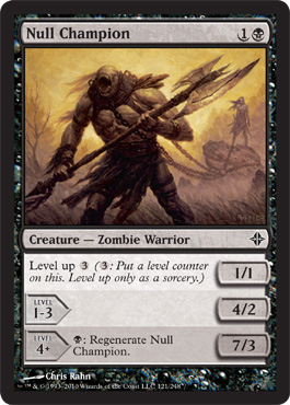 Null Champion | Magic: The Gathering Card