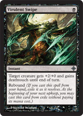 Virulent Swipe | Magic: The Gathering Card