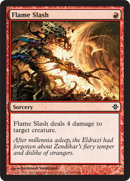 Flame Slash | Magic: The Gathering Card