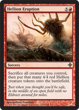Hellion Eruption | Magic: The Gathering Card