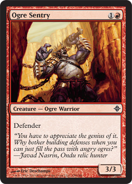 Ogre Sentry | Magic: The Gathering Card