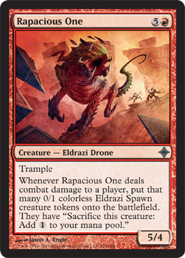 Rapacious One | Magic: The Gathering Card