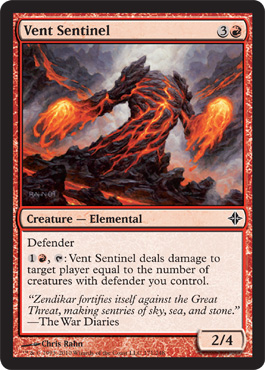 Vent Sentinel | Magic: The Gathering Card