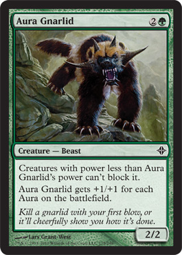 Aura Gnarlid | Magic: The Gathering Card