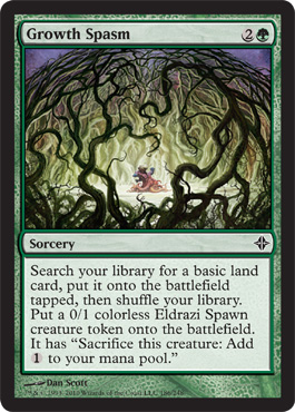 Growth Spasm | Magic: The Gathering Card