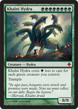Khalni Hydra | Magic: The Gathering Card