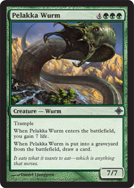 Pelakka Wurm | Magic: The Gathering Card