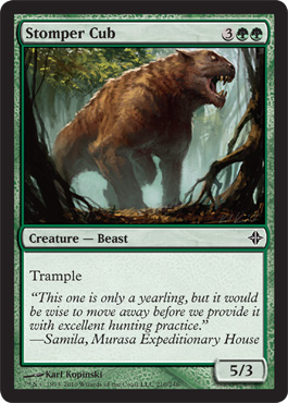 Stomper Cub | Magic: The Gathering Card