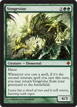 Vengevine | Magic: The Gathering Card
