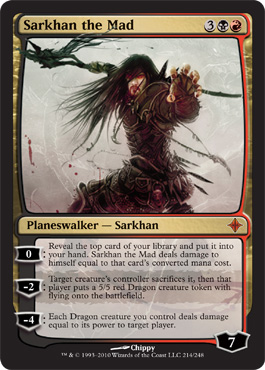 Sarkhan the Mad | Magic: The Gathering Card