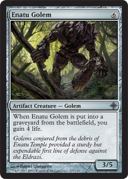 Enatu Golem | Magic: The Gathering Card