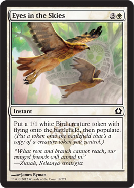 Eyes in the Skies | Magic: The Gathering Card